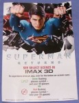 Superman Returns flyer