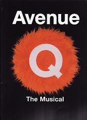 Avenue Q program- Front